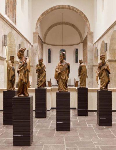 Museum Schnuetgen,MS, Dokumentation Kirche Innen, 10/2012