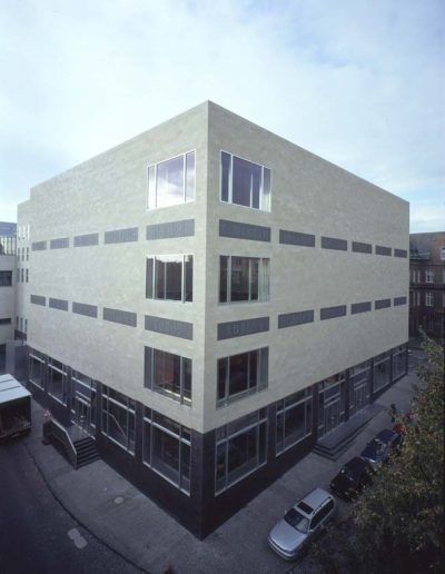 Nord-Ost-Fassade Wallraf-Richartz-Museum_Wallraf-Richartz-Museum & Fondation Corboud